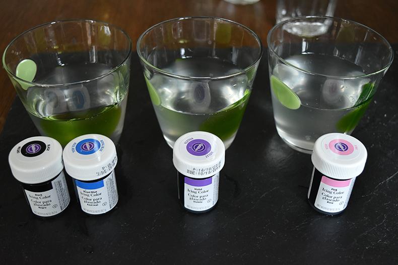 Galaxy Slime Lebensmittelfarbe